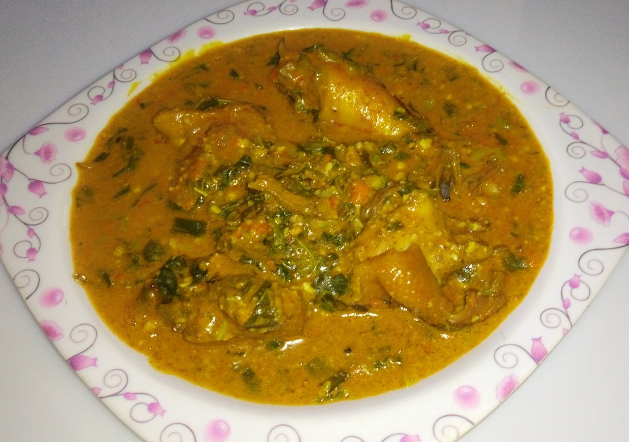Groundnut Soup : How To Prepare Groundnut Soup 1